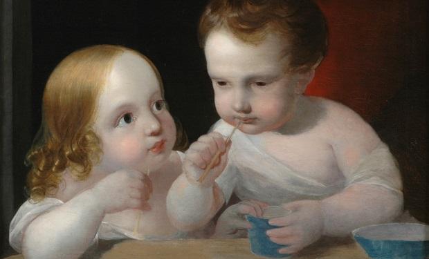 Children Blowing bubbles Engerth-bubbles