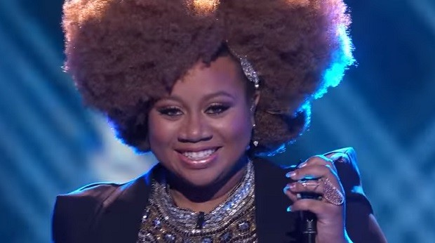 LaPorsha Renae on American Idol FOX