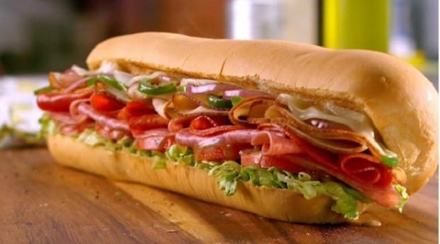 Subway Turkey Italiano Melt