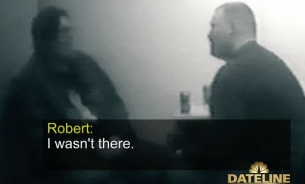 robert davis confession