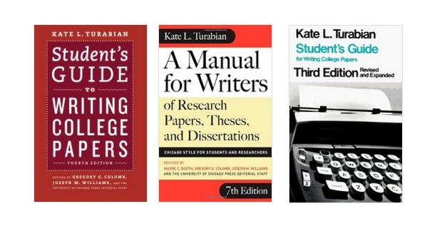 manual for writers of research papers A manual for writers of research papers, theses, and dissertations chicago  style for students and researchers 7th edition kate l turabian revised by.