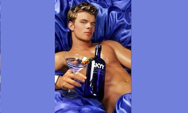 lars Slind Skyy Vodka ad