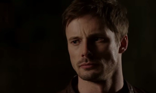 Bradley James, Damien, A&E