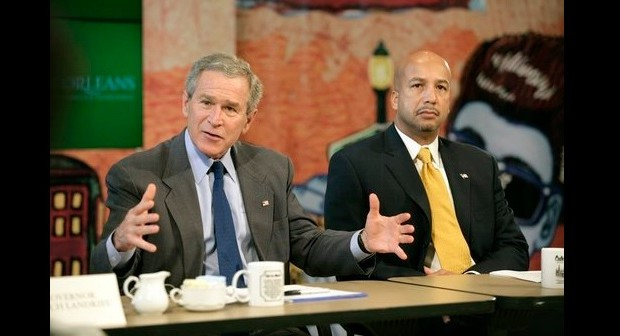 Bush and Nagin