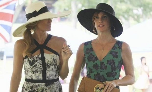 Still of Connie Britton and Judith Hoag in Nashville, Photo by Mark Levine/ABC