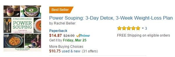 Power Souping Amazon Best Seller