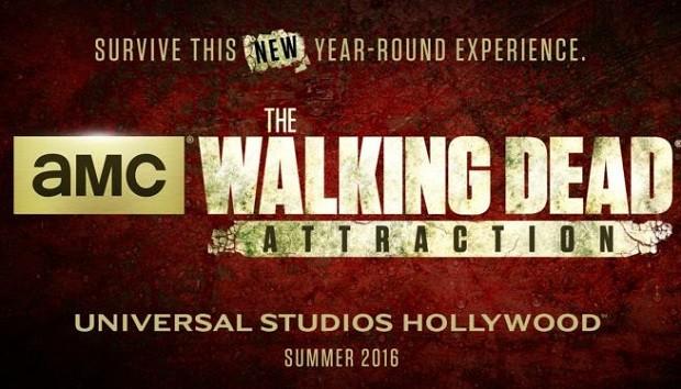 walking dead universal studios theme park