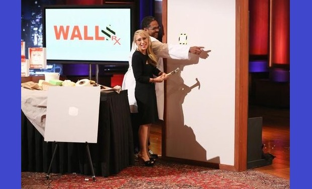 wall rx on Shark Tank, photo: Adam Taylor, ABC