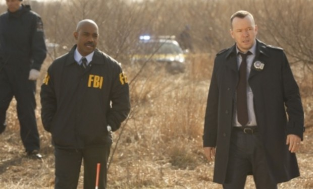 Michael Beach, Donnie Wahlberg, Blue Bloods CBS