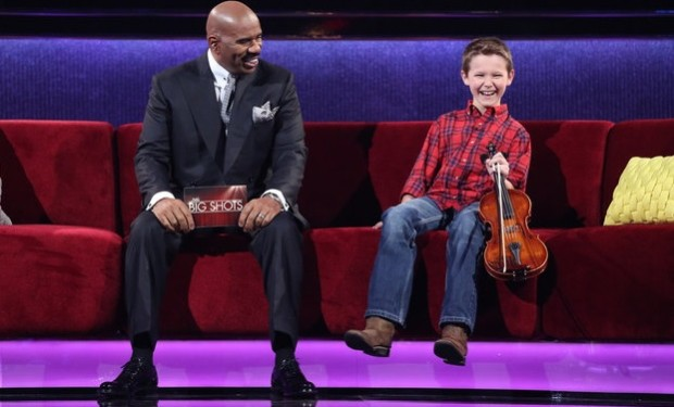 Carson Peters on Little Big Shots NBC