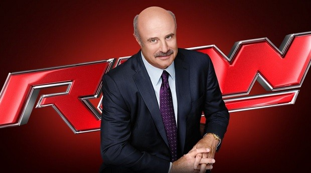 Dr Phil on WWE Raw