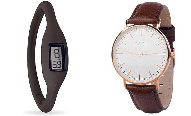 Esso and Tagi watches