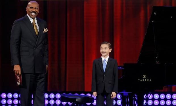 brandon Little piano man