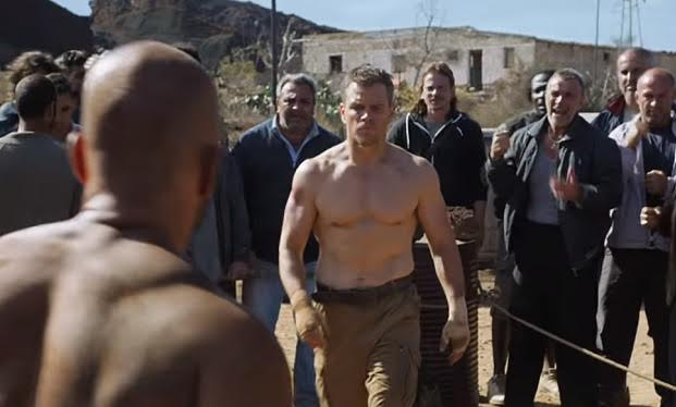 Matt Damon's Muscles Are Bourne Again Matt Damon's