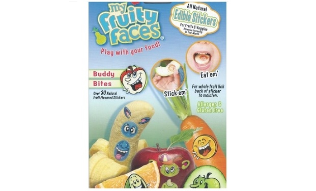My fruity faces where to get edible stickers on shark tank for Reely hooked fish co