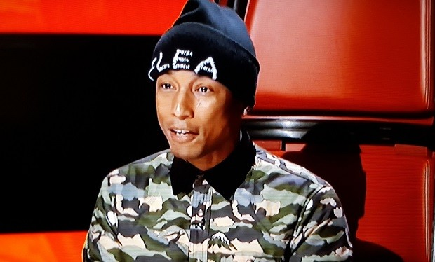 Pharrell Flea Hat on The Voice