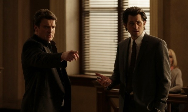 Nathan Fillion, Kristoffer Polaha Castle ABC