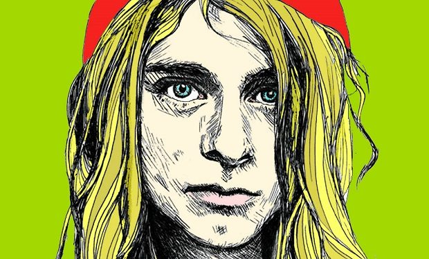 Kurt_cobain drawing