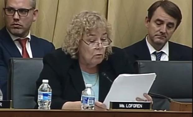 Representative Zoe Lofgren