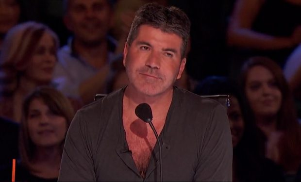 Simon Cowell AGT NBC cleavage