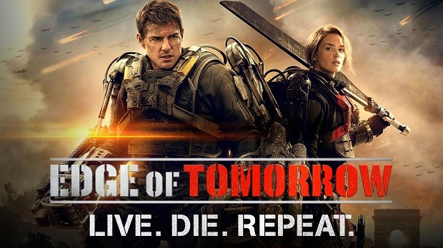 edge of tomorrow original poster warner brothers