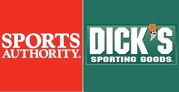 Sports Authority, Dicks logos