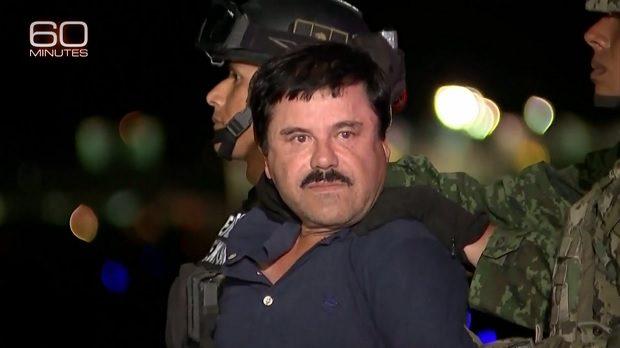 El Chapo 60 Minutes CBS