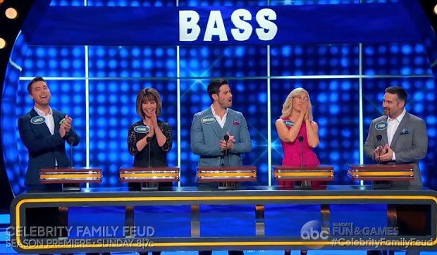 Lance Bass Celebrity Family Feud ABC