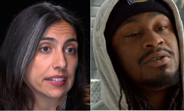 Nathalie Sommer, Marshawn Lynch, 60 Minutes Sports