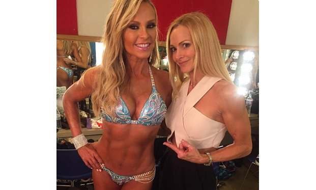 Tamra judge quits drinking wins ms bikini contest for Reely hooked fish dip