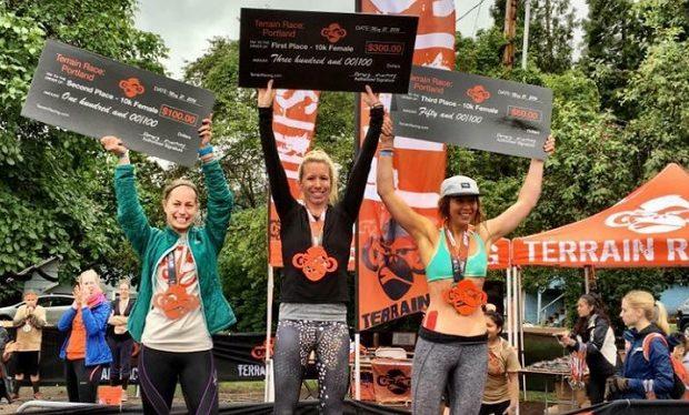 Sara Knight Terrain Race in Portland Sara