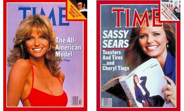 Cheryl Tiegs, TIME 1978 1984