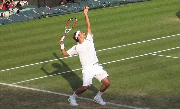Federer at Wimbledon 2007