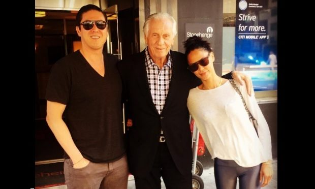 Jules Wainstein with brother and father Instagram