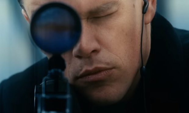 Matt Damon, Jason Bourne trailer