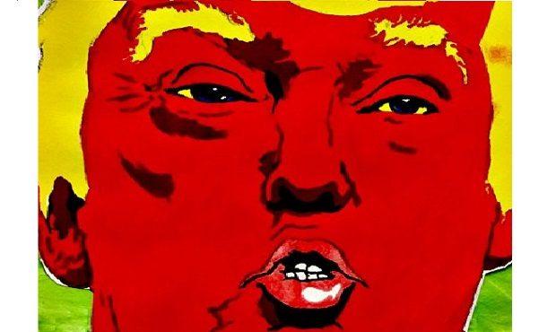 Trump Diablo Pinata