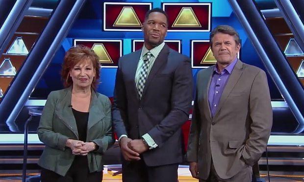 100 000 pyramid, Joy Behar, Michael Strahan, John Michael Higgins, ABC