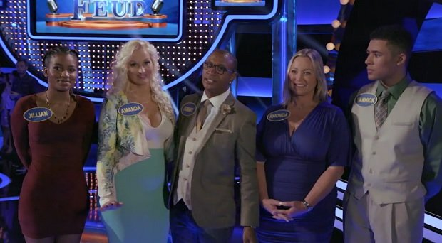 Celebrity family feud the office video episode