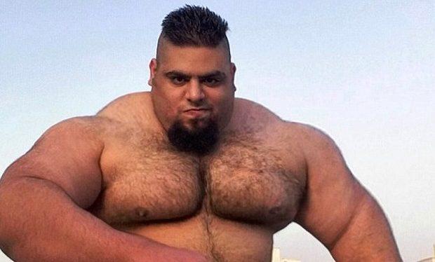 iranian hulk @sajadgharibii