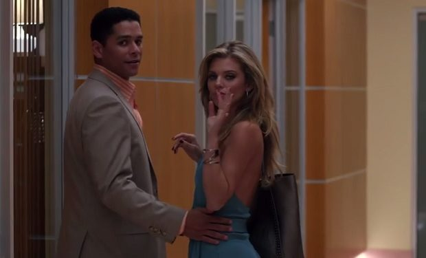 Charlie Barnett, AnnaLynne McCord, Secrets and Lies, ABC patrick-and-melanie-warner-secrets-and-lies-abc
