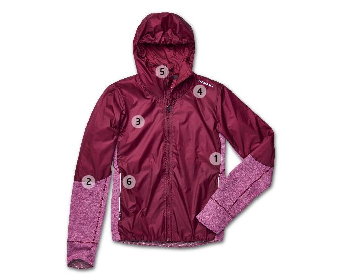 Brooks' Women's LSD Thermal Running Jacket ($160)