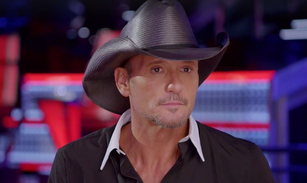 Tim McGraw, The Voice, NBC