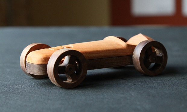Rubber Band Car Inventables