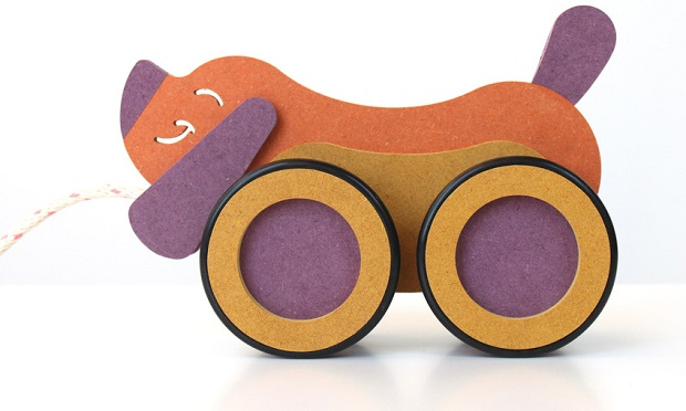 Chicago Pull Dog Toy Inventables