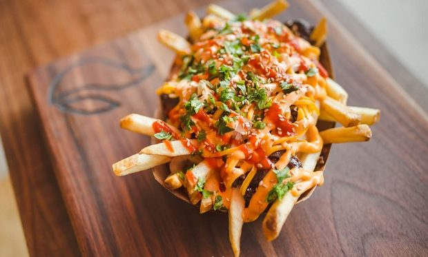 kimchi-fries Chi'LantroBBQ.com