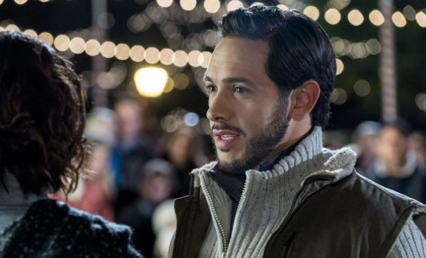 Michael Rady Christmas in Homestead Hallmark Crown