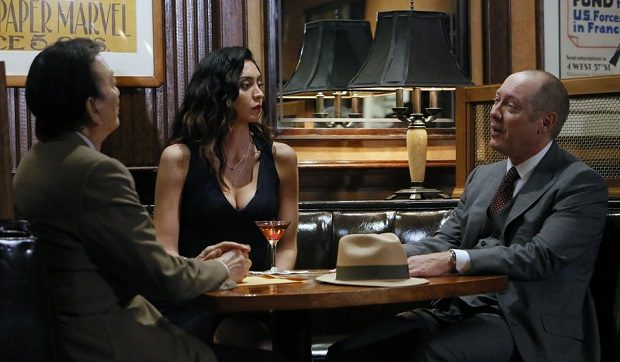 James HOng, Samar Navabi, James Spader, The Blacklist, NBC