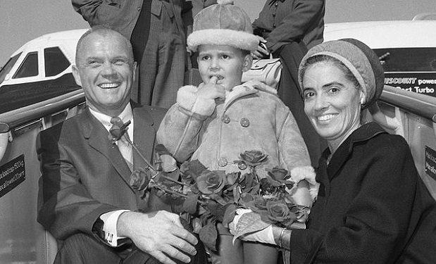 Anna and John Glenn