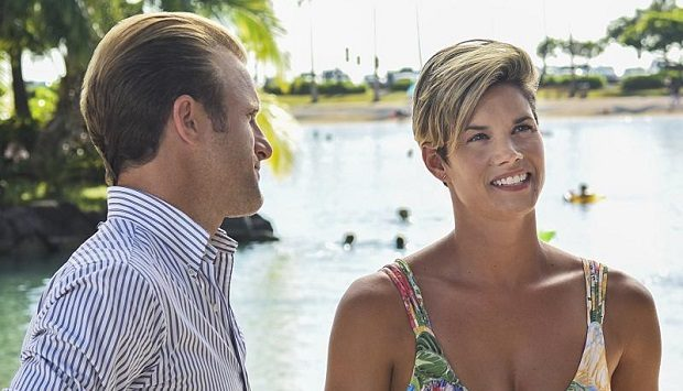 (Missy Peregrym) danny-and-bridget-hawaii