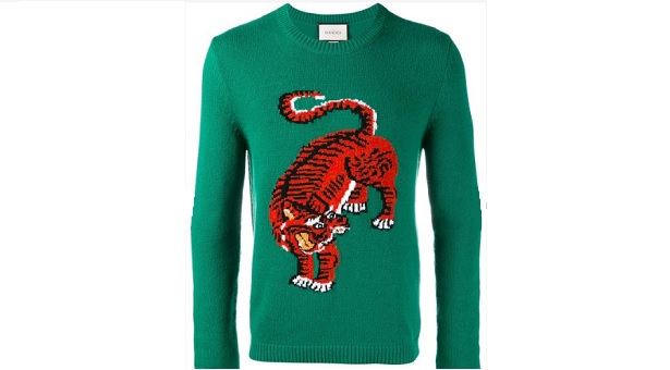 Gucci tiger sweater